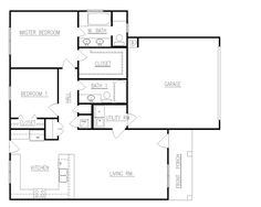 28 x 40 floor plans with attached garage - Yahoo Image Search Results