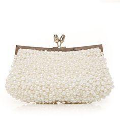 Handtaschen - $29.29 - Prächtig Seide mit Synthetischen Perlen Handtaschen (012012258) http://jenjenhouse.com/de/Praechtig-Seide-Mit-Synthetischen-Perlen-Handtaschen-012012258-g12258
