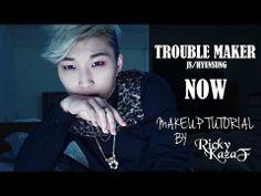 Trouble Maker - JS [NOW] Makeup Tutorial - RickyKAZAF - YouTube