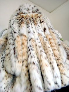 Luxury Lynx Belly Luchs Fur Coat sable zobel Jacket pelz рыси lince ITALY Milano   JPEGbay.com
