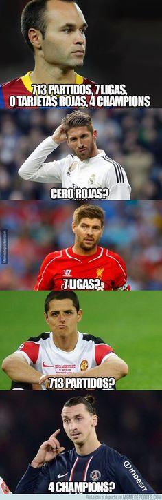 Lo que a cada uno le falta del gran Andrés Iniesta