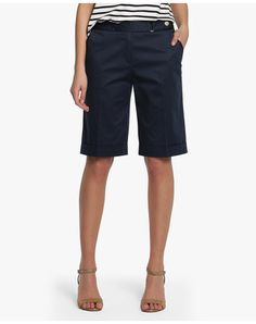 Bermuda de mujer Zendra El Corte Inglés Bermuda Shorts Outfit, Bermudas Shorts, Short Outfits, Casual Outfits, Summer Outfits, Cute Outfits, Fashion 101, Fashion Outfits, Look Con Short