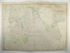 Large Brooklyn Map 1903 Vintage Map Brooklyn New York, Brooklyn Gift, NYC Map, Man Cave Art Gift for Him, Brooklyn Office Art, Railroad Map available from OldMapsandPrints.Etsy.com #VintageBrooklynMap #AntiqueMapofBrooklyn #LargeBrooklynMap