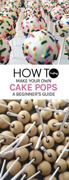 Check out these beginner tips and tricks to making perfect cake pops.