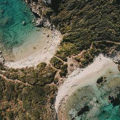 Shot by @claudia_bakic #corfu #portotimoni #beach #afionas #corfuisland #greece #drone #dji #djimavicair #korfu #visitgreece #travelgreece #traveldiary # Corfu Island, Mavic, Greece Travel, Corfu, Greece Vacation