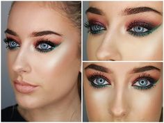 Dramatic | Pop Of Colour | Urban Decay Vice 4 Tutorial | Collab - YouTube