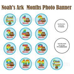 Noah's Ark Birthday Noah's Ark Party Noah's by JRCreativeDesigns