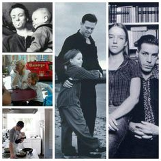 Rammstein members and their kids.