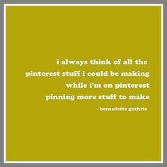 the pinterest paradox
