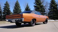1969 Plymouth Road Runner 440 CI, 4-Speed