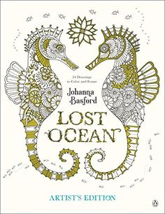Lost Ocean Artist's Edition: An Inky Adventure and Colori...