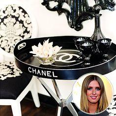 vintage Chanel table!