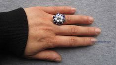 Ring Tutorial, Beaded Rings, Beadwork, Gifts For Friends, Special Gifts, Bracelets, Manual, Engagement Rings, Beads