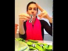 """Little Man"" Baby Shower Napkin Bow Ties DIY - YouTube"