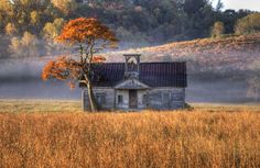 Dustin George of Maryville photographed the old Island View School recently in Sevier County with a Canon T3i and a 18-135mm lens. 'The scho...