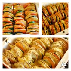Potato, Zucchini & Sweet Potato Bake
