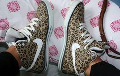 leopard print   , white laces, animal print shoes, leopard print, leopard, leopard ... ★ DiamondB! Pinned ★