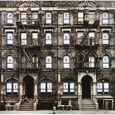 "Peter Corriston / ""Physical Graffiti"" cover for the english gods Led Zeppelin / 1975"