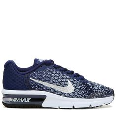 new concept 571df a6c1a Nike Kids  Air Max Sequent 2 Running Shoe Grade School Shoes (Binary Blue