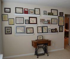 Creating a Family History Wall