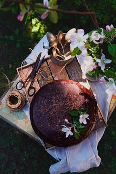 St[v]ory z kuchyne Michel De Montaigne, Chocolate Rum Cake, Glamour Photo, Food Porn, Nature, Cottage, Gardening, Pump, Naturaleza
