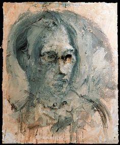 Miquel Barceló, Portrait of Bernard Picasso, 1995