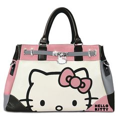 122810001 - Hello Kitty Face Of Fashion Handbag With Custom C… Hello Kitty  Purse fff3ab41785ac