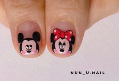 Nails, Disney, Beauty, Little Girl Nails, Pretty Gel Nails, Nail Manicure, Finger Nails, Ongles, Beauty Illustration