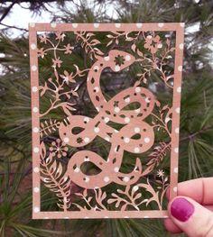Paper Decoration by Lisa Martiny Festa, via Behance Paper Decorations, Laser Engraving, Lisa, Behance, Illustration, Ideas, Design, Illustrations