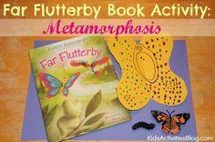 Far Flutterby {Karen Kingbury} Book Activity: Metamorphosis