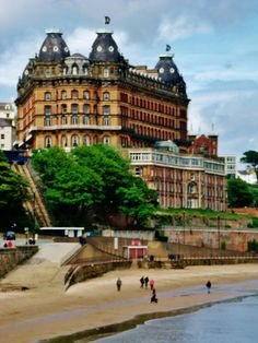Grand Hotel Scarborough, I loved the character and charm of this Hotel and would love to stay here again.