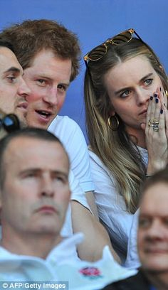 Cressida Bonas, pictured, and Chelsy Davy both said they struggled with the burden of cons...