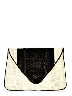 Bryna - Willow Woven Clutch | VAULT
