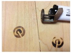 Pin It Branding Iron for BIC Lighters by duann on Shapeways