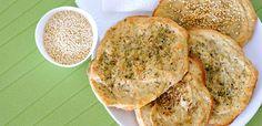 Würzige Quinoa-Fladenbrote, glutenfrei