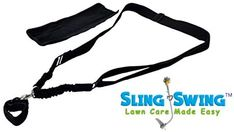 Amazon.com : Sling Swing ADJUSTABLE Weed Eater Grass Trimmer Harness Shoulder Strap with Shock Bungee with Quick Detach Swivel, Ambidextrous limb arm tool saver professional weedeater stretch strain garden COMFORT : Garden & Outdoor Lawn Care, Weed, Grass, Shoulder Strap, Arm, Amazon, Garden, Outdoor, Products