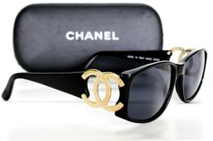 b10520bf7c Image Detail for - Buy the Chanel Sunglasses 5146 Black New Authentic for  274 .