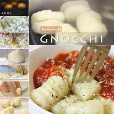 Homemade Potato Gnocchi Pasta Recipe