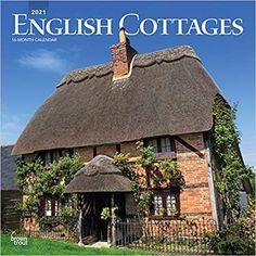 English Cottages Englische Landhauser 2021 16 Monatskalender Original Browntrout Kalender M Englische Landhauser English Cottage Hutten Im Englischen Stil