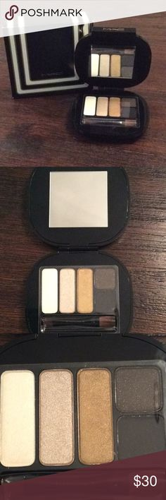 MAC stroke of midnight eyes/smoky 5 color palette NIB MAC stroke of midnight eyes/smoky 5 color eyeshadow palette. Includes brush and instruction booklet. MAC Cosmetics Makeup Eyeshadow