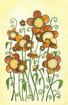 Nana Jo's Cookies Original Watercolor Painting