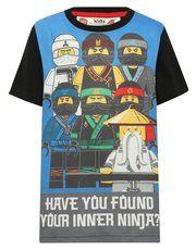 Lego Ninjago print t-shirt