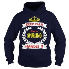 Awesome Tee Keep calm SPURLING Shirts & Tees
