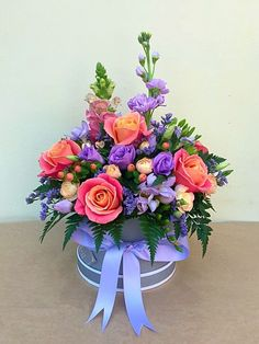 Flower Box Gift, Flower Boxes, Flower Arrangements Simple, Flower Centerpieces, Sola Wood Flowers, Fake Flowers, Beautiful Rose Flowers, Amazing Flowers, Flower Delivery