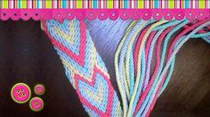 Gasa Wayuu Ply Split Tapestry Bag, Tapestry Crochet, Inkle Weaving, Crochet Backpack, Crochet Purses, Knitted Bags, Diy Crochet, Diy Projects To Try, Diy And Crafts