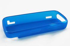 Чехол силиконовый Nokia 5230 (синий)  Чехол силиконовый Nokia 5230 (синий)