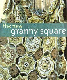 CROCHET - Susan Cottrell - The new granny square - Maria M Castells - Picasa Web Albums Crochet Quilt, Crochet Blocks, Granny Square Crochet Pattern, Crochet Chart, Love Crochet, Crochet Granny, Crochet Afghans, Freeform Crochet, Crochet Motif