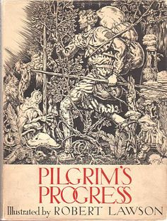 The Pilgrim's Progress. religious English literature at it's finest. one of my all time favorites.