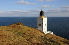 Pillar Rock Lighthouse (Holy Island Outer), Arran, Scotland by iancowe, via Flickr