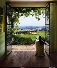 Tuscany....like a painting.